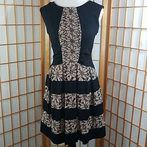 Eva Franco (Anthropologie) Laced Strata dress